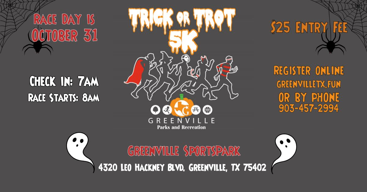 trick or trot 5k FB banner